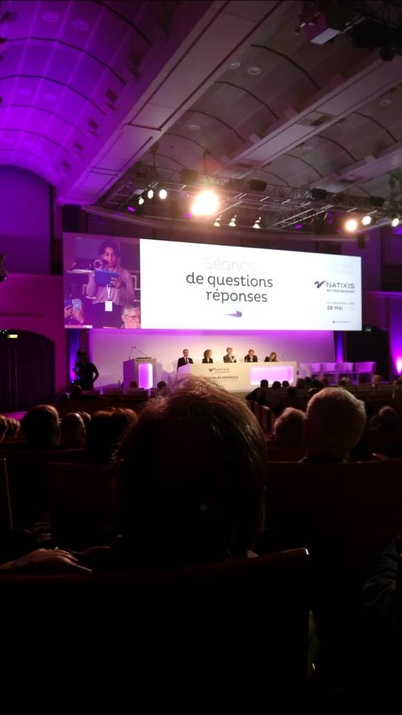 Intervention at natixis AGM